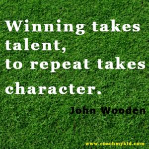 Baseball Coaching Character