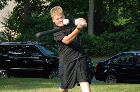 Baseball Wiffle Ball Drill