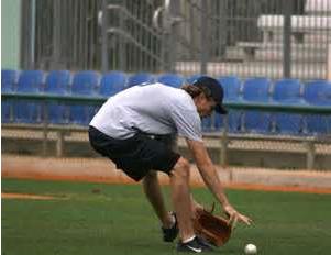 Fielding a Bunt