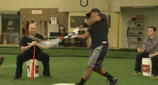 Soft Toss From Behind the Hitter