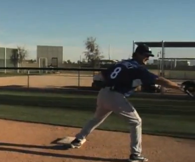 First Base Footwork: Don Mattingly Shows You How